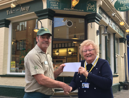 Weymouth Chippy Shows Great Support for Julia's House Children's Hospice
