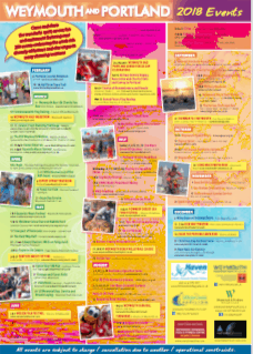 Weymouth Events Leaflet 2018 Click to Download PDF