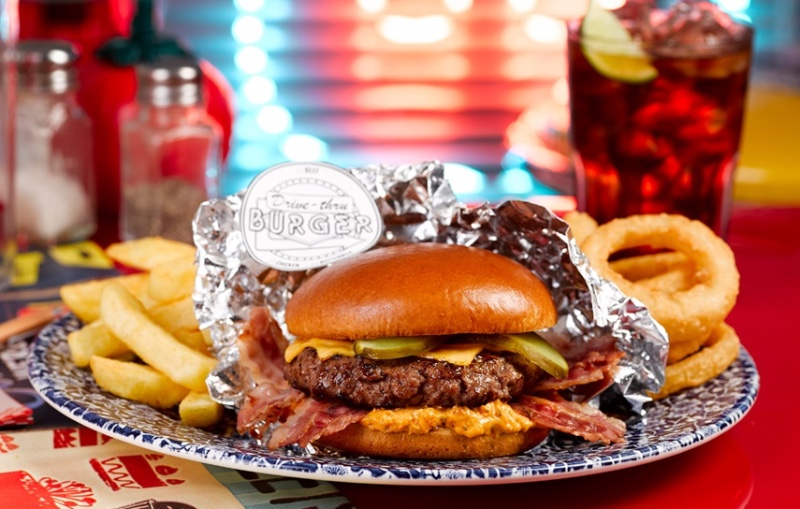Drive-Thru-burger