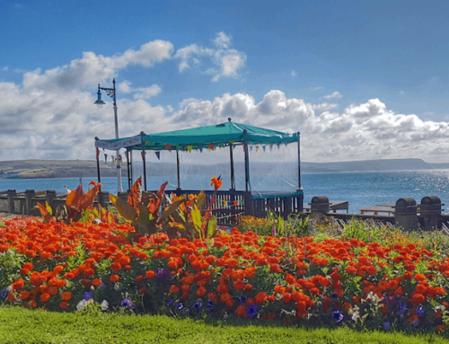 Weymouth's Greenhill and Sandsfoot Gardens win Green Flag Award