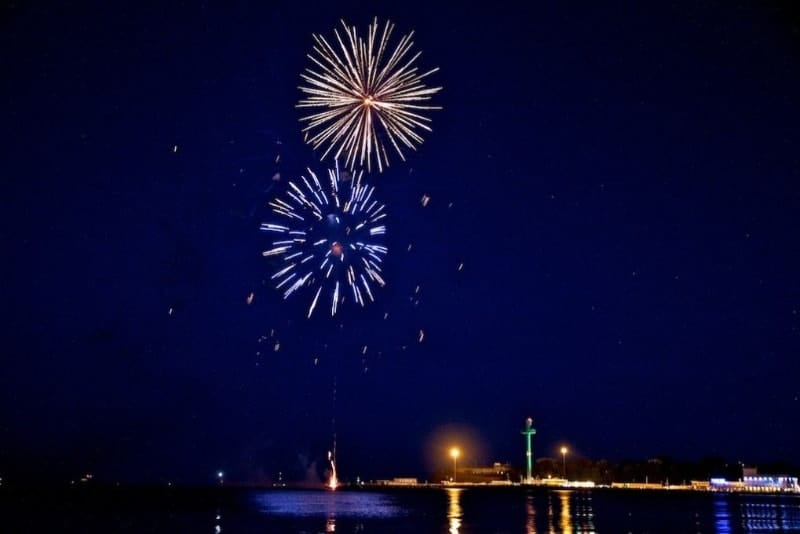 Weymouth Seafront Fireworks Displays July and August 2019