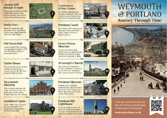 Download The Weymouth and Portland Journey Through Time Leaflet