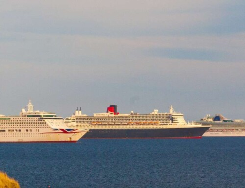 Best Way to View The Cruise Ships in Weymouth Bay