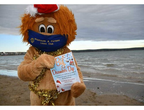 Lions Big December Dip to Raise Funds for Charities