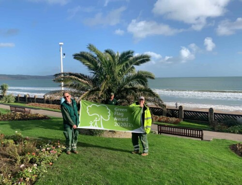 Weymouth's Greenhill and Sandsfoot Gardens Awarded Green Flag